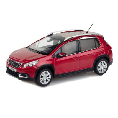 Model Peugeot New 2008 1:43 - červená