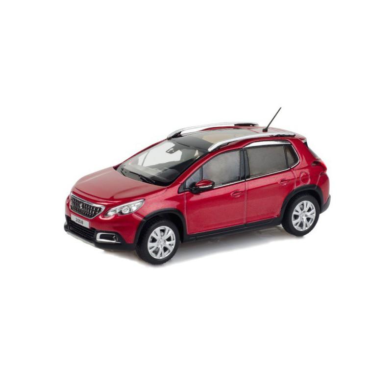 Model Peugeot Nová 2008 1:43 - červená