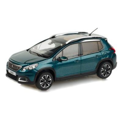 Model Peugeot 2008 blue 1:43