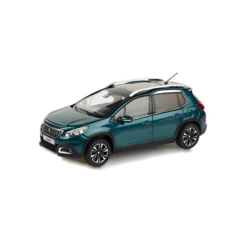 Model Peugeot 2008 azul 1:43