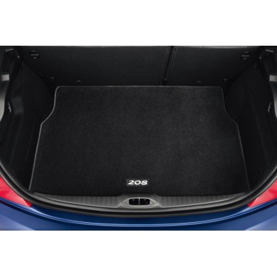 Luggage compartment mat reversible Peugeot 208
