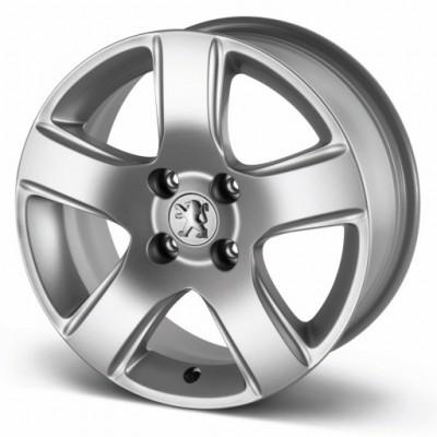 "Serie di 4 cerchi in lega Peugeot ISARA 16"" - 308, 3008"