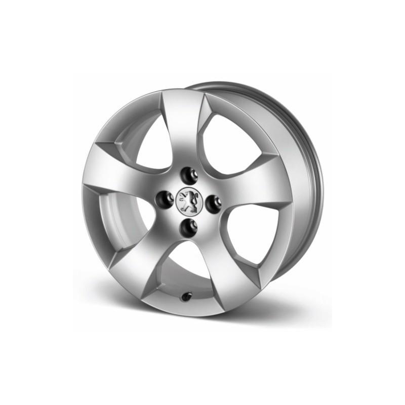 """Juego de 4 llantas de aleación Peugeot SAVARA 17"""" - 3008"""