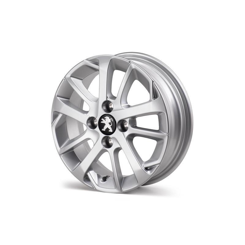 """Serie di 4 cerchi in lega Peugeot AXEL 14 """"- 108"""