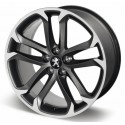 "Aluminum wheel SOLSTICE 19 ""matt black onyx Peugeot - RCZ"