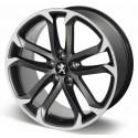 """Llanta de aleación Peugeot SOLSTICE 19"""" matt black onyx - RCZ"""