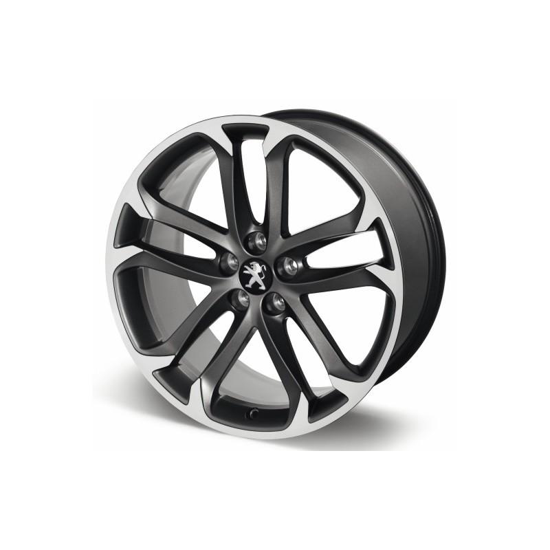 "Leichtmetallfelge Peugeot SOLSTICE 19 ""matt black onyx - RCZ"