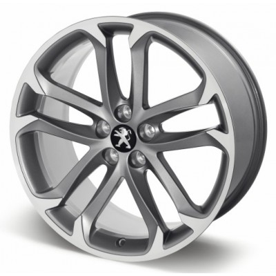 "Aluminum wheel SOLSTICE 19 ""anthracite gray - RCZ"