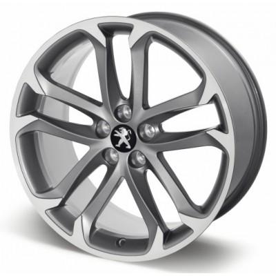 "Leichtmetallfelge Peugeot SOLSTICE 19 ""anthracite gray - RCZ"