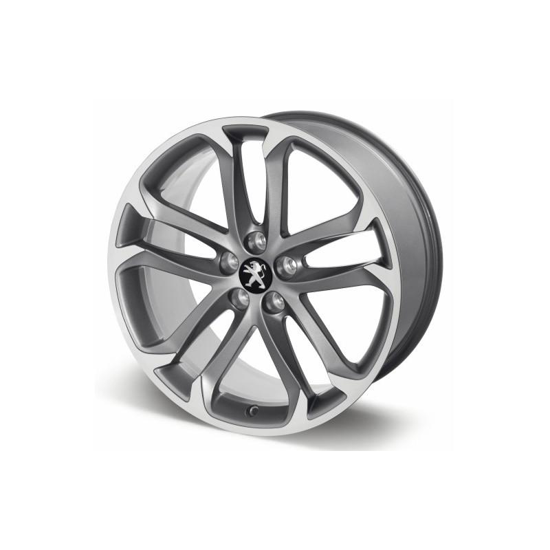 """Aluminum wheel SOLSTICE 19 """"anthracite gray - RCZ"""