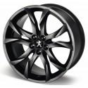 "Leichtmetallfelge Peugeot SORTILEGE 19 ""matt black onyx - RCZ"