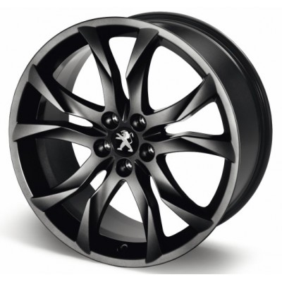 "Alloy wheel Peugeot SORTILEGE 19"" matt black onyx - RCZ"