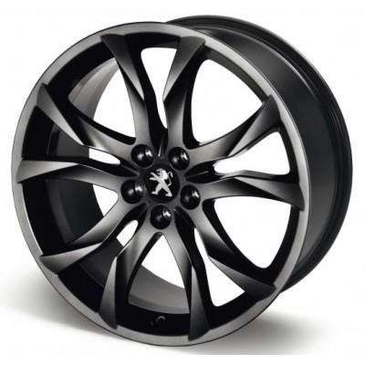 """Llanta de aleación Peugeot SORTILEGE 19"""" matt black onyx - RCZ"""