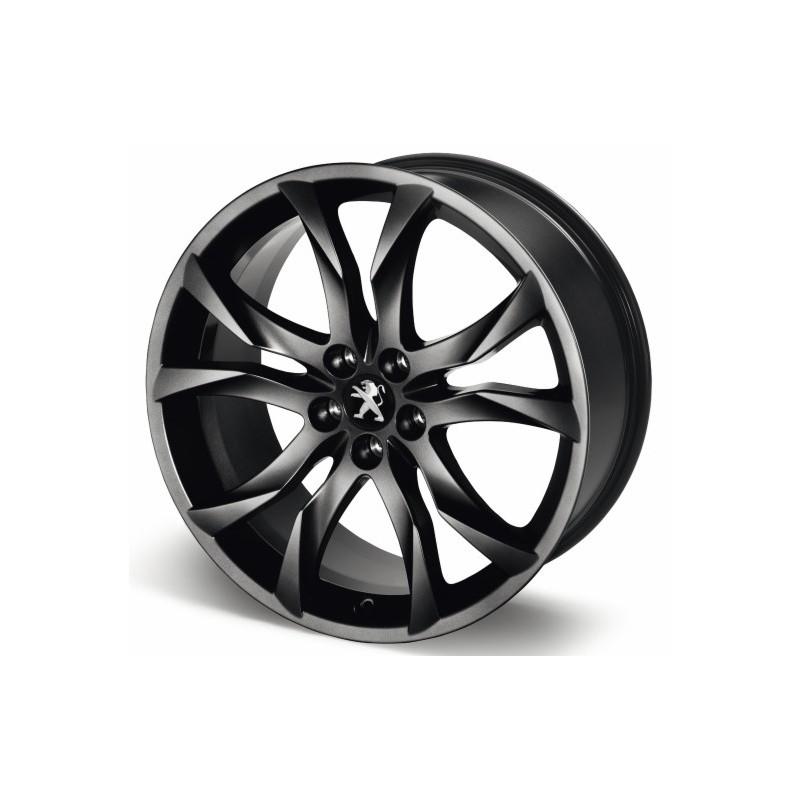 "Aluminum wheel SORTILEGE 19 ""matt black onyx Peugeot - RCZ"