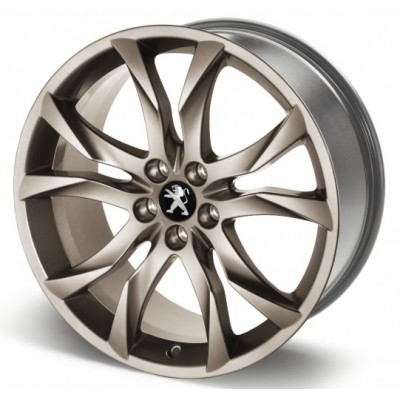 """Leichtmetallfelge Peugeotl SORTILEGE 19 """"Midnight Silver - RCZ"""