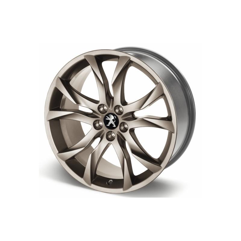 """Cerchio in lega Peugeotl SORTILEGE 19 """"Midnight Silver - RCZ"""