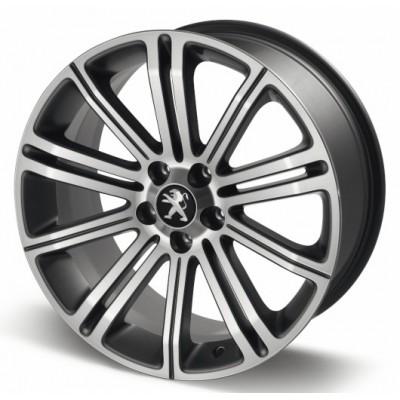 """Hliníkové kolo Peugeot ORIGINAL 18"""" tmavě šedý - RCZ"""