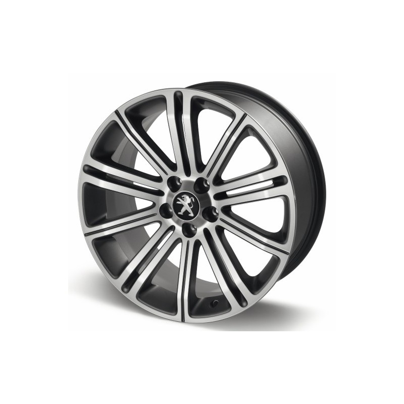 "Leichtmetallfelge Peugeot ORIGINAL 18 ""dark gray - RCZ"