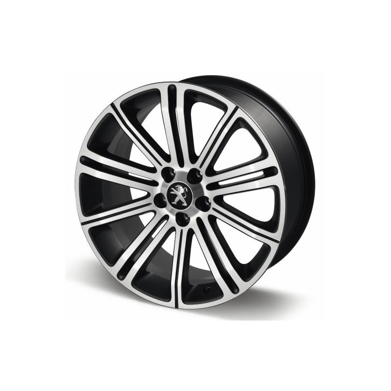 "Leichtmetallfelge Peugeot ORIGINAL 18 ""gray Pyrite - RCZ"