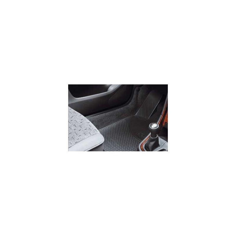 Set of front rubber floor mats Peugeot - 307, 307 SW