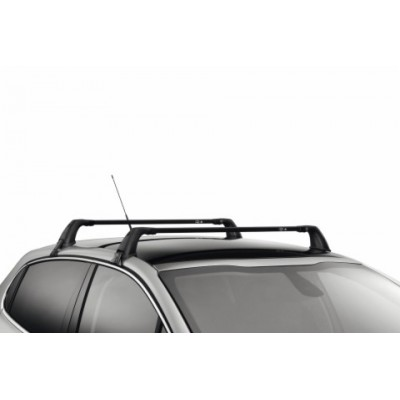 Set of 2 transverse roof bars Peugeot 208 3 Door