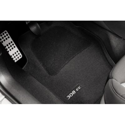 Juego de alfombrillas de moqueta acordonada Peugeot 308 CC