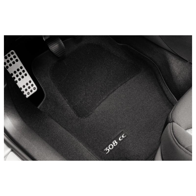 Serie di tappetini in moquette agugliata Peugeot 308 CC