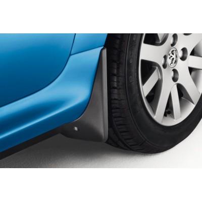 Satz schmutzfänger für vorne Peugeot 206+