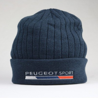 Zimní čepice Peugeot Sport - tmavě modrá