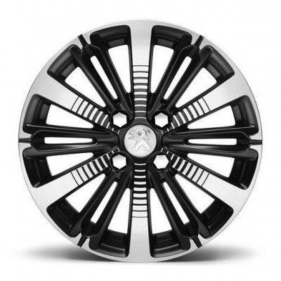 "Set of 4 alloy wheels TITANE 16"" Peugeot - 208"