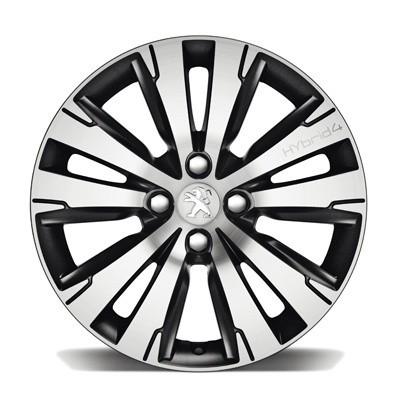 "Satz mit 4 Leichtmetallfelgen Peugeot SCALDIS 17"" - 3008"