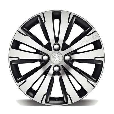 "Set of 4 alloy wheels Peugeot SCALDIS 17"" - 3008"