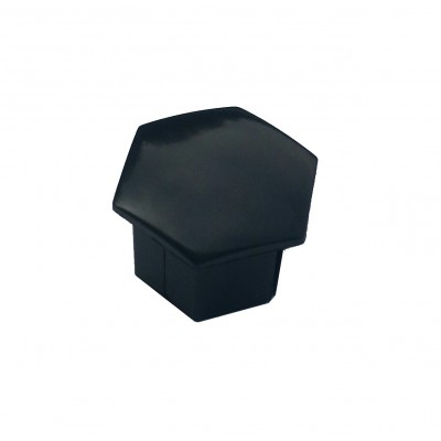 Bolt cap Peugeot - black angular