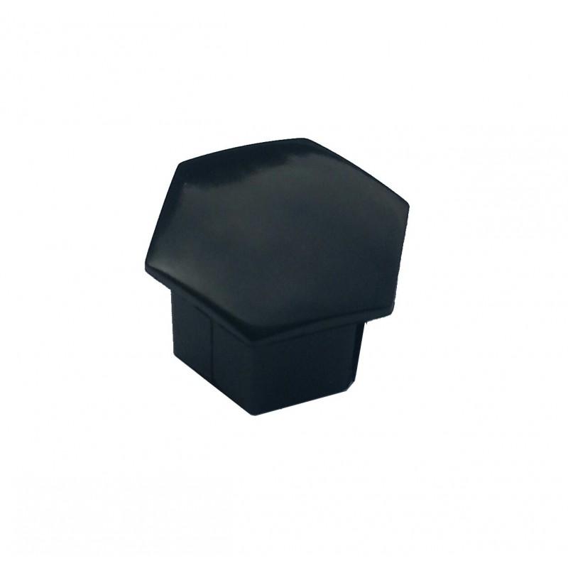Calotte copribulloni ruota Peugeot - nero angolare