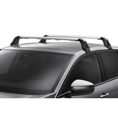 Serie di 2 barre del tetto trasversali Peugeot 3008 SUV (P84) senza barre