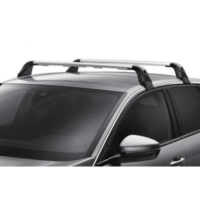 Set of 2 transverse roof bars Peugeot 3008 SUV (P84) without bars