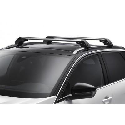 Serie di 2 barre del tetto trasversali Peugeot 3008 SUV (P84) con barre