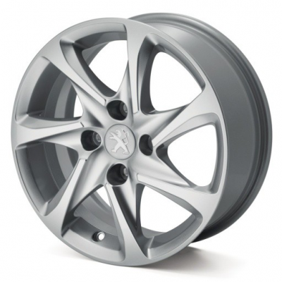 "Set of 4 alloy wheels AZOTE 15"" Peugeot - 208, 301"