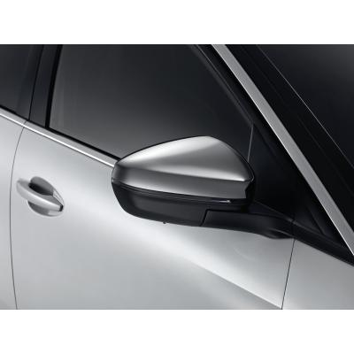 Sada krytek vnějších zpětných zrcátek CHROM Peugeot - Nová 3008 (P84), Nová 5008 (P87)