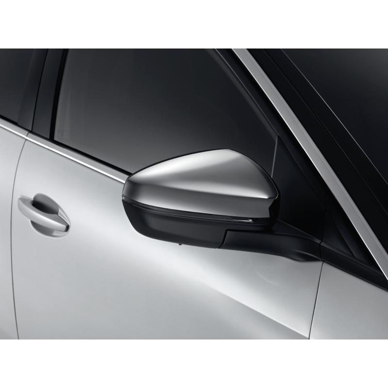 Serie di 2 gusci di protezione per retrovisori esterni cromato Peugeot - Nuova 3008 (P84), Nuova 5008 (P87)