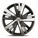 "Serie di 4 cerchi in lega Peugeot DETROIT 18"" - Nuova 3008 (P84)"