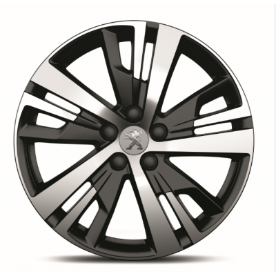 "Set of 4 alloy wheels Peugeot DETROIT 18"" - New 3008 (P84)"