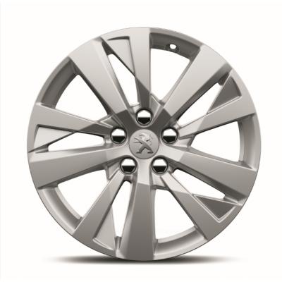 """Juego de 4 llantas de aleación Peugeot CHICAGO 17"""" - 3008 (P84), Nueva 5008 (P87)"""