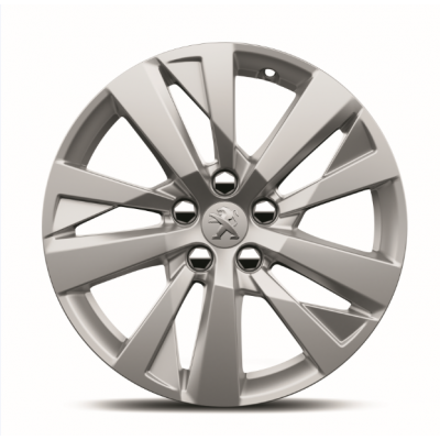 """Satz mit 4 Leichtmetallfelgen Peugeot CHICAGO 17"""" - Neu 3008 (P84)"""