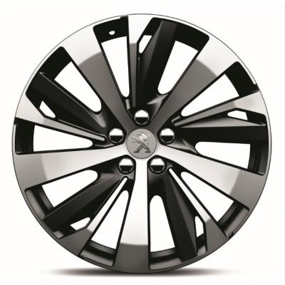 "Satz mit 4 Leichtmetallfelgen Peugeot NEW-YORK 19"" - Neu 3008 (P84), Neu 5008 (P87)"