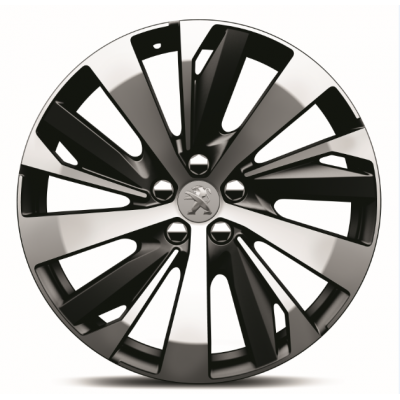 "Set of 4 alloy wheels Peugeot NEW-YORK 19"" - New 3008 (P84), New 5008 (P87)"