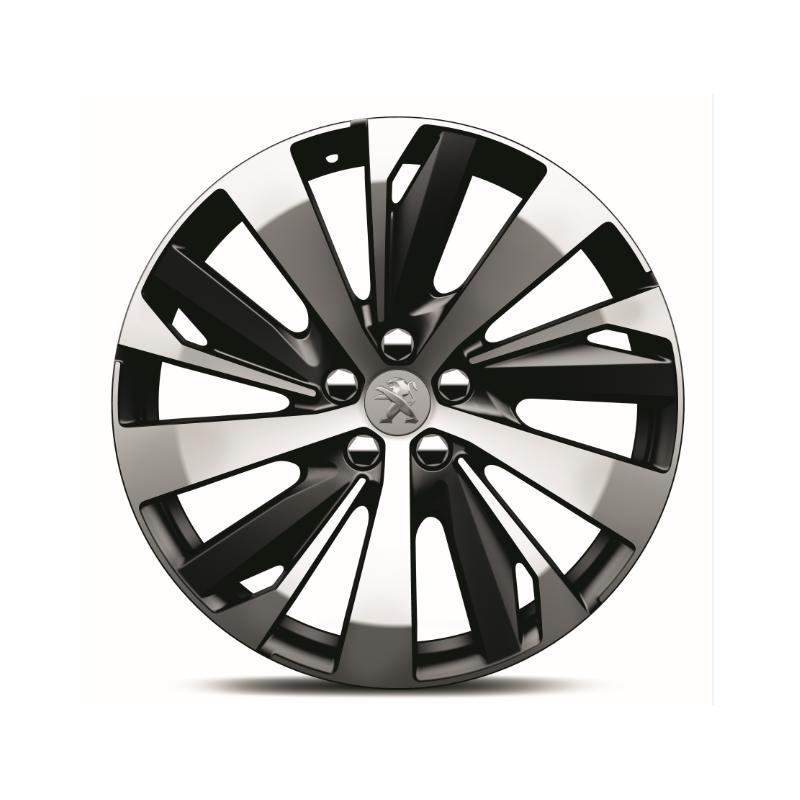 "Set of 4 alloy wheels Peugeot NEW-YORK 19"" - New 3008 (P84)"