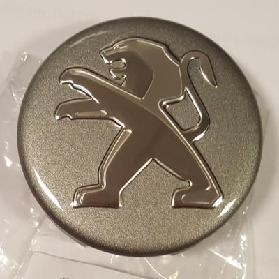 Abdeckkappe für leichtmetallfelge Peugeot grau