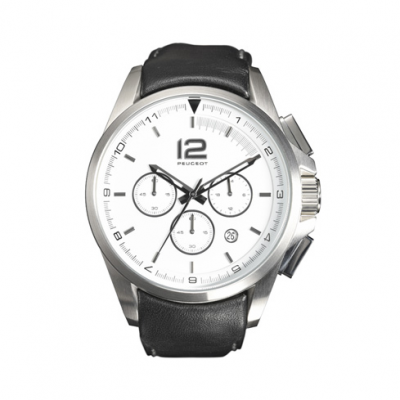 Reloj Peugeot CHRONO CUIR NOIR