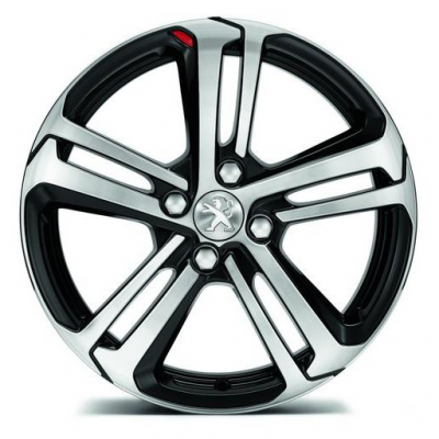 "Alloy wheel Peugeot LIGNE S 16"" - 208"